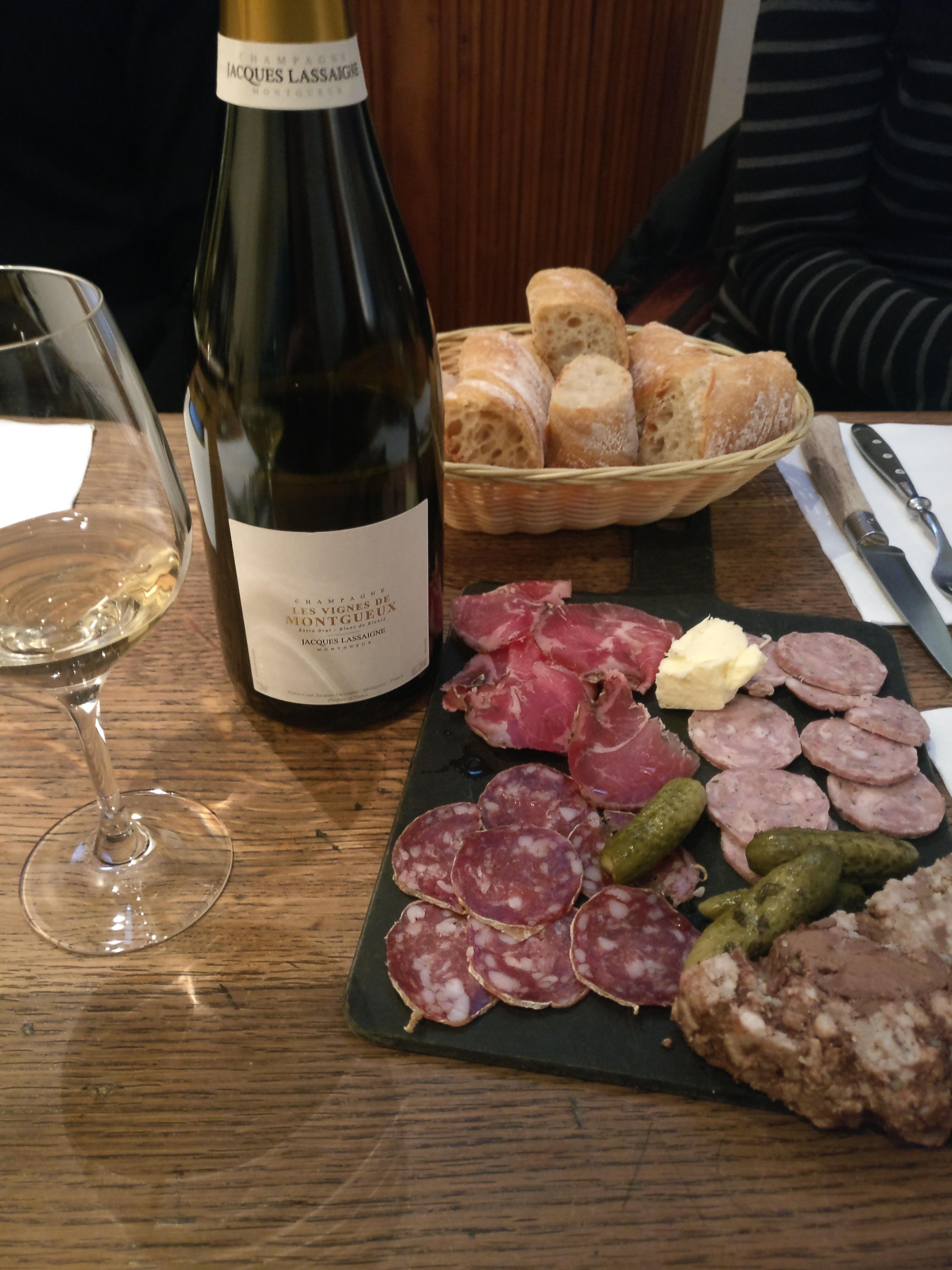 Champagne Jacque Lassaigne Les Vignes de Montgueux Côte des Bar en Champagne