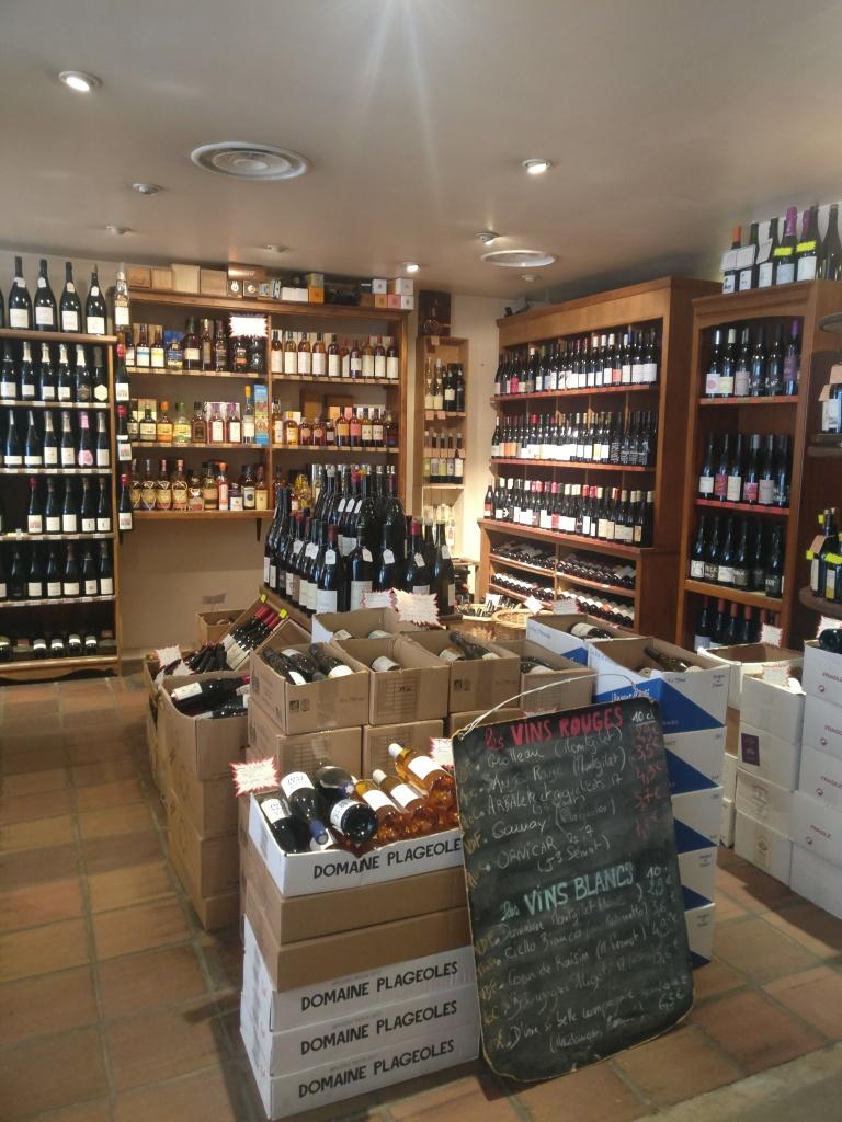 Large choix de vins bio
