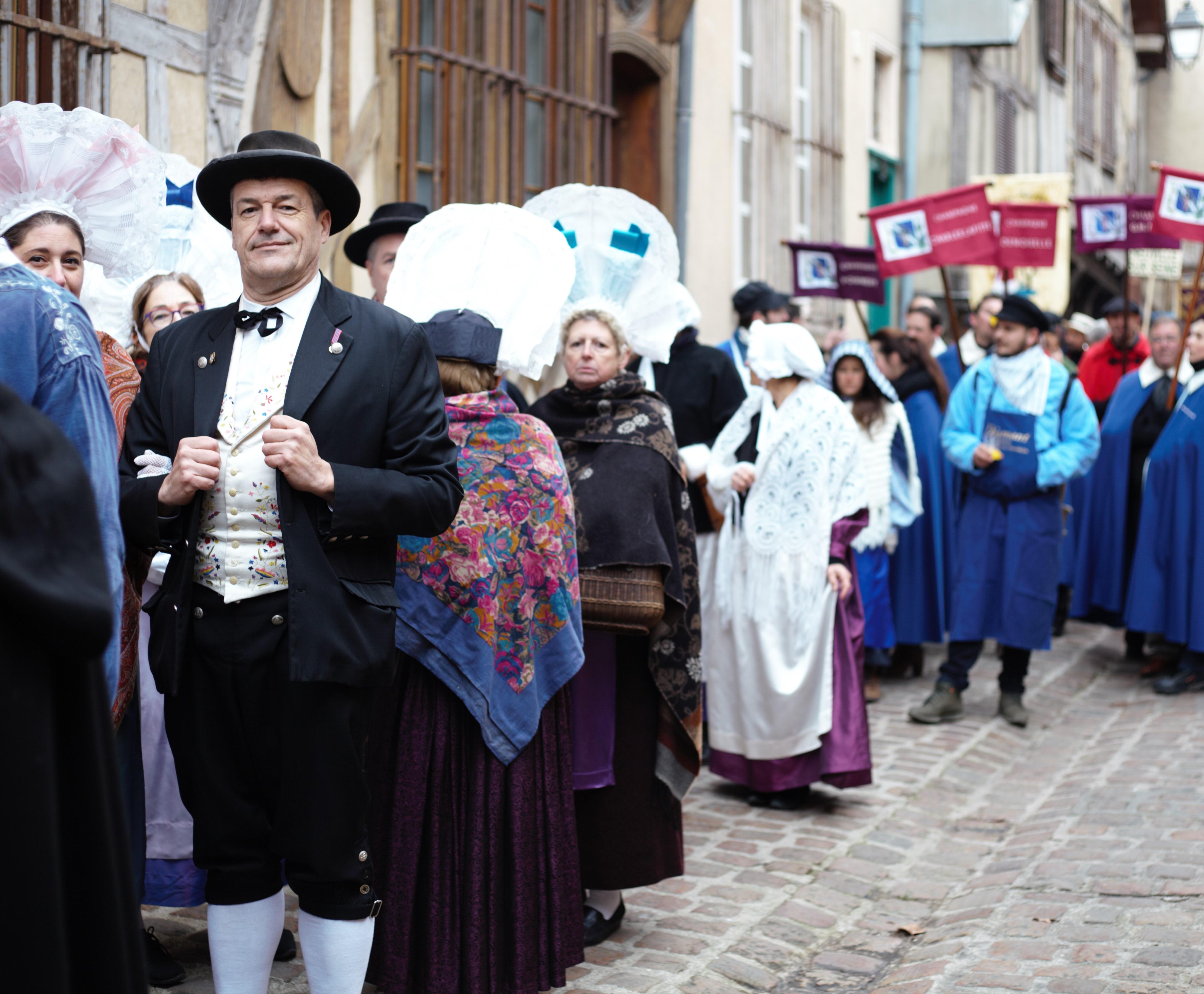 Fête de la saint vincent à Troyes en Champagne